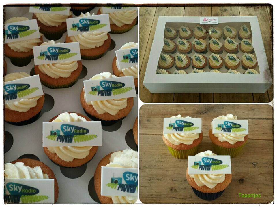Skyradio Cupcakes voor Just Works